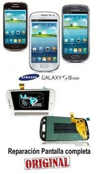 Cambiar / Reparar pantalla completa Samsung Galaxy S3 Mini GT-I8190 Original