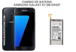 Cambiar / Reemplazo Bateria Samsung Galaxy S7  SM-G930F
