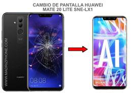 Cambiar / Reparar Pantalla Completa Huawei Mate 20 Lite SNE-LX1