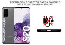 Cambiar / Reparar Conector de Carga Samsung Galaxy S20 SM-G980F / SM-G981F