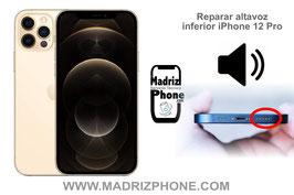 Reparar / Cambiar altavoz inferior de música Apple iPhone 12 Pro