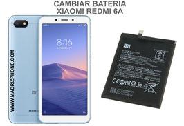 Cambiar / Sustituir Bateria Xiaomi Redmi 6A