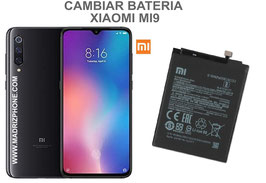 Cambiar / Sustituir Bateria Xiaomi Mi9 ( MI 9) M1902F1A