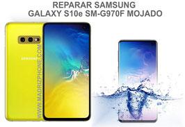 Reparar / Recuperar Samsung Galaxy S10e SM-G970F Mojado