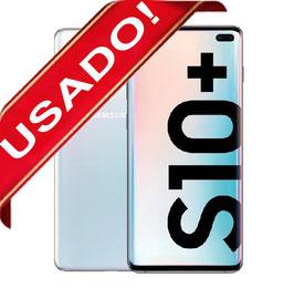 SAMSUNG GALAXY S10 PLUS 1TB/12GB BLANCO LIBRE USADO 10/10 ( S10+)