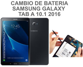 Cambiar / Reemplazar Bateria Samsung Galaxy TAB A 10.1 2016 T580 , T585 ( A6 )