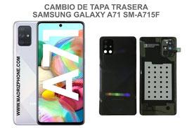Cambiar / Reparar Tapa Trasera Samsung Galaxy A71 SM-A715F