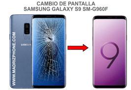 Cambiar / Reparar pantalla completa Samsung Galaxy S9 SM-G960F