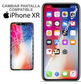 Cambiar / Reparar Pantalla Completa Apple iPHONE XR  Compatible Calidad Oled