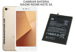 Cambiar / Sustituir Bateria Xiaomi Redmi Note 5A