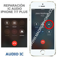 Cambiar / Reparar ic Chip Audio  iPHONE 7 / 7 Plus Original ( 7G/7+ Reparación de Placa)