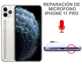 Reparar / Cambiar Microfono  Apple iPHONE 11 PRO