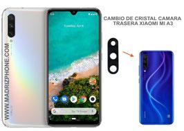 Cambiar / Reparar Cristal de la camara trasera Xiaomi Mi A3