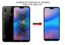 Cambiar / Reparar pantalla completa HUAWEI P20 Lite ANE-LX1