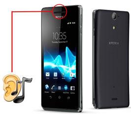 Reparación ALTAVOZ (auricular escucha) Sony Xperia V LT25i