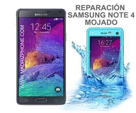 Reparar / Recuperar Samsung Galaxy NOTE 4 SM-N910F MOJADO