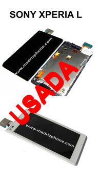 Cambio de Pantalla COMPLETA Sony Xperia L Original USADA