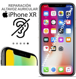 Cambiar / Reparar Altavoz Superior APPLE  iPHONE XR  (ORIGINAL)