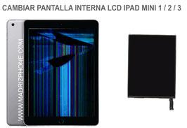 Cambiar / Reparar Pantalla lcd interna Apple iPAD Mini 1 / 2 / 3 ( A1432, A1454, A1455 , A1489 , A1490 , A1491 , A1599 , A1600 )