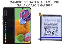 Cambiar / Reparar Bateria Samsung Galaxy A90 5G SM-A908F