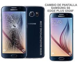 Cambiar / Reparar pantalla completa Samsung Galaxy S6 EDGE PLUS + SM-G928F ORIGINAL