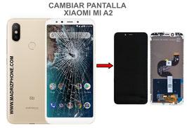 Cambiar / Reparar pantalla completa Xiaomi  Mi A2