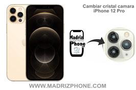 Cambiar / Reparar Cristal de la Cámara Trasera Apple iPhone 12 Pro