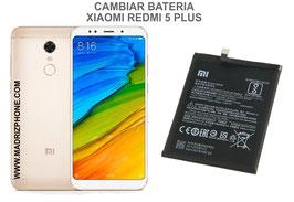 Cambiar / Sustituir Bateria Xiaomi Redmi 5 Plus