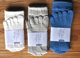 婦人用五本指靴下
