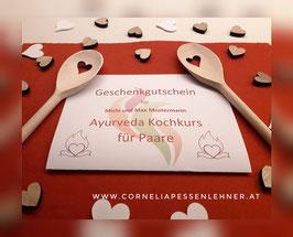 Geschenkgutschein Ayurveda Kochkurs für Paare
