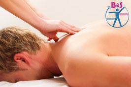 Klassische Massage mit Rotlicht