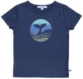 Enfant Terrible T-Shirt mit Haiflossen Druck