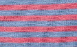 Pickapooh Mütze Baumwolle blau/ rosa