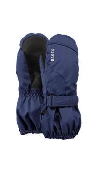 Barts Winter / Ski Handschuhe, Fäustlinge Rot/ Navy