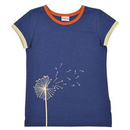 Baba Kidswear T-Shirt kurzarm Pusteblume, navy & Altrosa