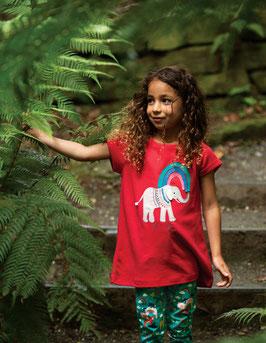 Frugi Longshirt mit weicher Elefant Stickerei