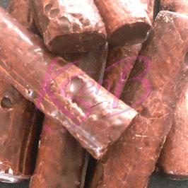 Hazelnoot chocolade spekken