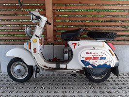 Vespa PK 125 S - VMX5T # Mailand - Marrakesch