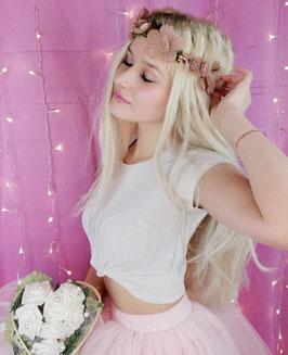 Blumenhaarband ''Liebe''