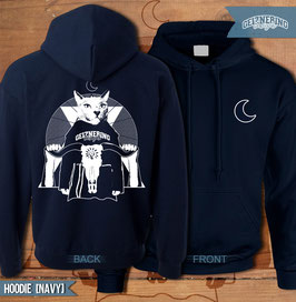 "GEIZNERING DESIGNS - Merchandise ""Mystical Cat"" (Hoodie/Navy)"