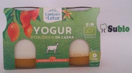 SC. Yogur Ecológico con Mango y Vainilla