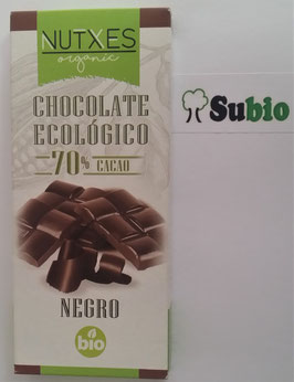 Chocolate Negro Nutxes