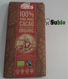 Chocolate Negro Solé 100 %