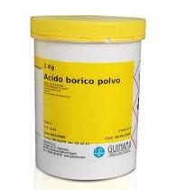 Pfc Acido Borico Polvo