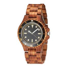 Armbanduhr TJW Wooden | Black
