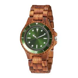 Armbanduhr TJW Wooden | Green