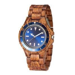 Armbanduhr TJW Wooden | Blue