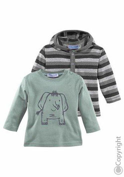 2x KLITZEKLEIN majice dugi rukav za bebe - Samo 109,90 HRK