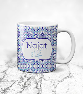 Tasse Najat - Royal Blue Collection Marocco