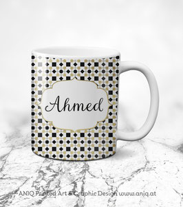 Tasse Ahmed Gold - Collection Marocco